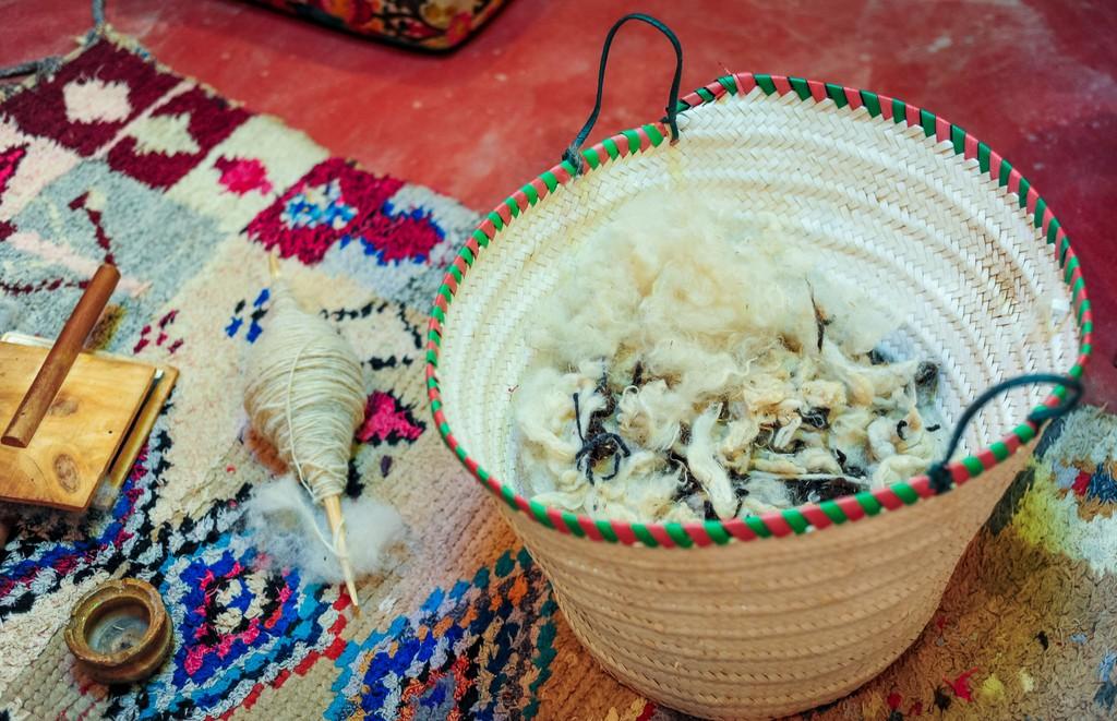 O berberských kobercoch